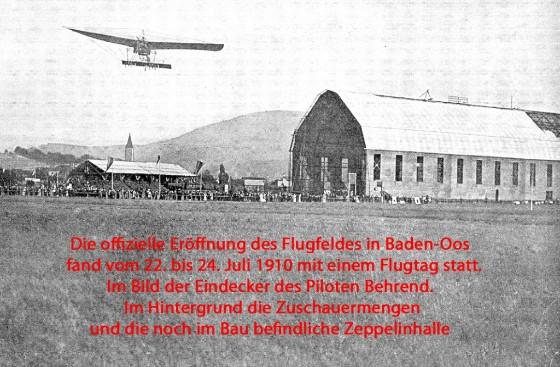 Flugplatz Baden Oos